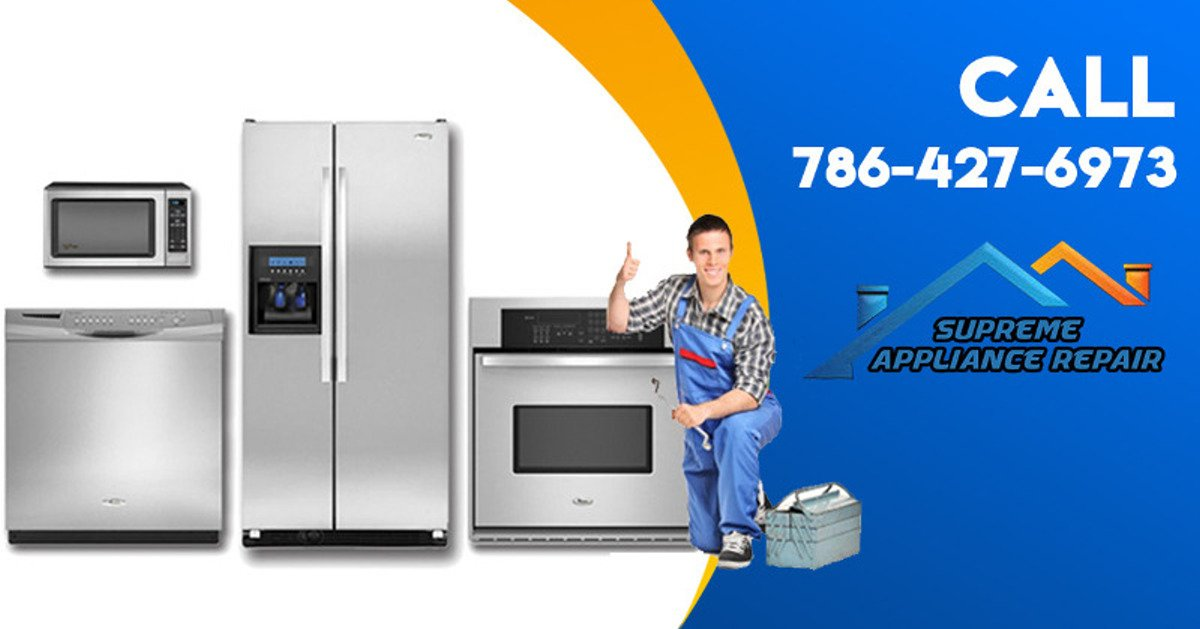 Call Us For All Major Appliance Repairs Supreme